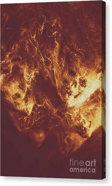 Star Trek Canvas Print - Demon Hellish Nightmare by Jorgo Photography - Wall Art Gallery