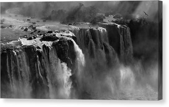 Argentinian Canvas Print - Demonstration Of Power by Zan Zhang