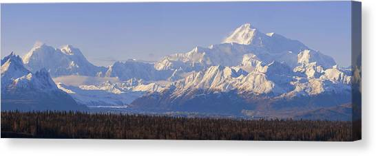 Denali Canvas Print - Denali by Chad Dutson
