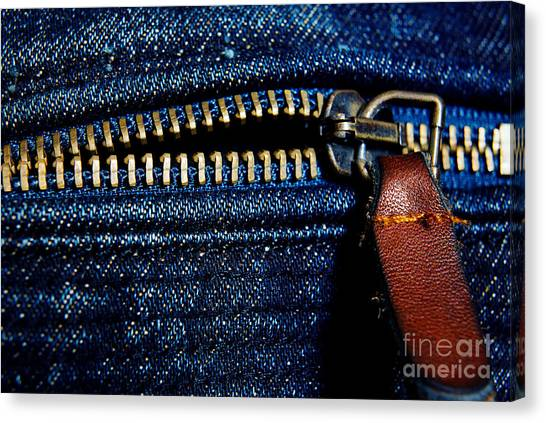 Denim Canvas Print