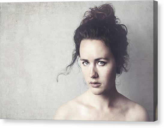 Magenta Canvas Print - Denise by Ilse Noordhof