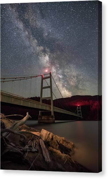 Canvas Print - Dent Bridge Milky Way 2018 by Jeremy Tamsen