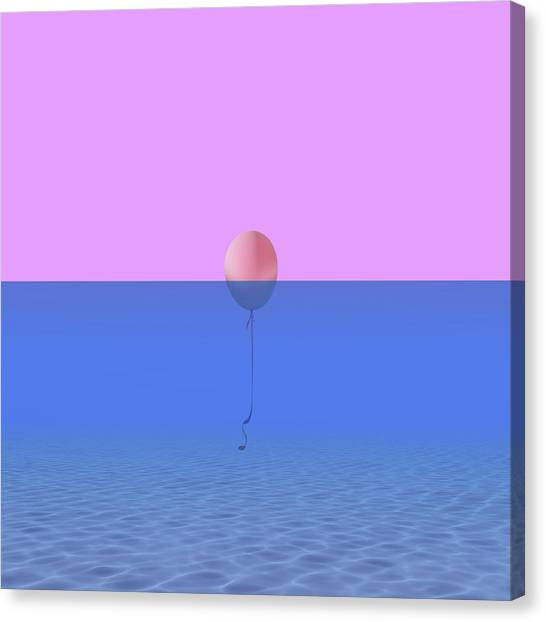 Minimal Canvas Print - Dentro O Fuori by Caterina Theoharidou