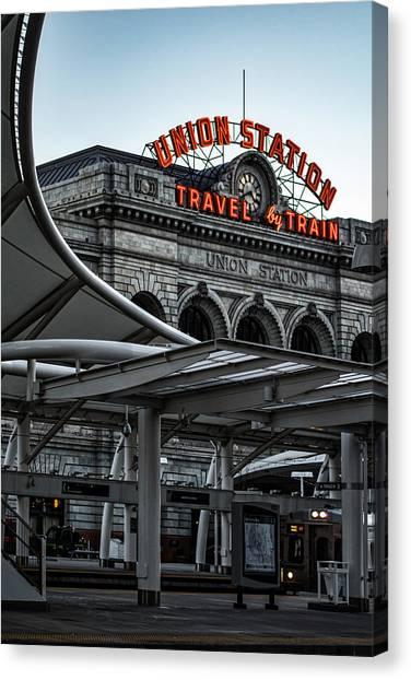 Denver 365 Canvas Print