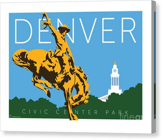 Denver Civic Center Park Canvas Print