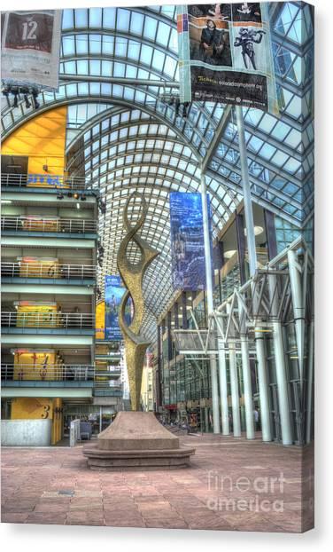 Denver Performing Arts Center Canvas Print