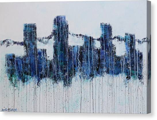 Denver Rain Canvas Print