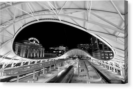 Denver Union Station 1 Canvas Print