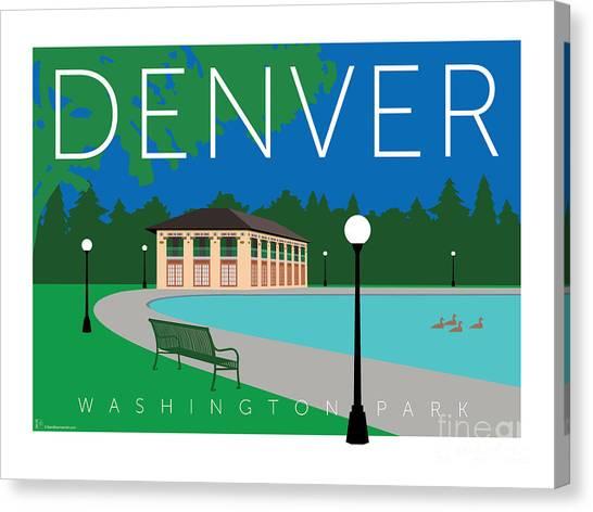 Denver Washington Park Canvas Print