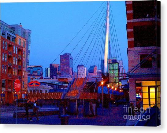 Denverscape Iv Canvas Print