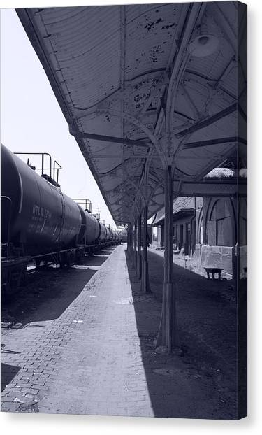 Departing Depot Canvas Print by Jame Hayes