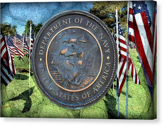 Department Of The Navy - United States Canvas Print