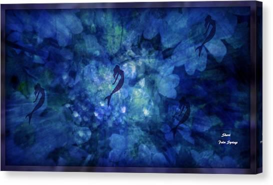 Underwater Caves Canvas Print - Depth Of Underwater Beauty by Sherri's - Of Palm Springs