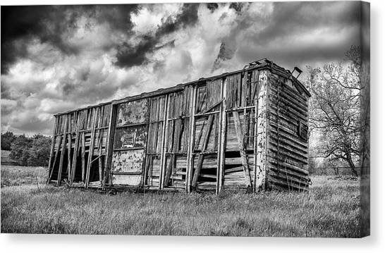 Stock Cars Canvas Print - Derailed #2 by Stephen Stookey
