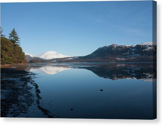 Derwentwater Shore View Canvas Print