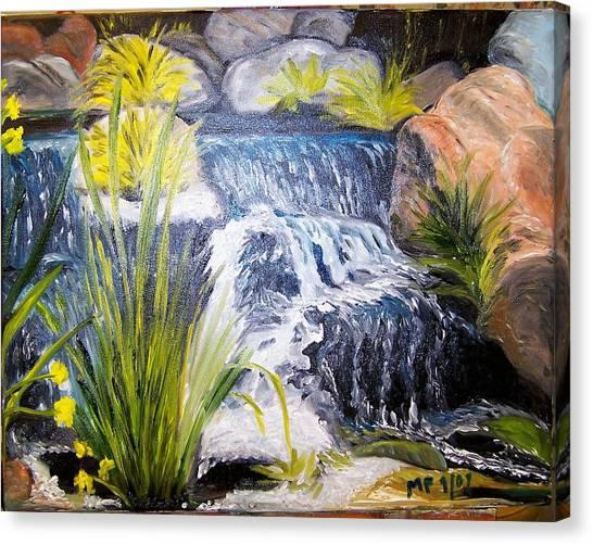 Descanso Waterfall Canvas Print by Madeleine Prochazka