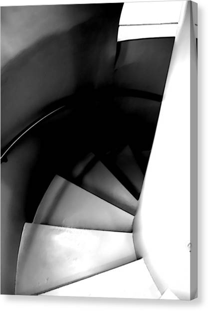 Descent Canvas Print