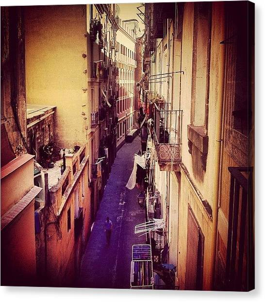 Barcelona Canvas Print - Desde Arriba #barcelona #wepicbcn by Francesc Coves
