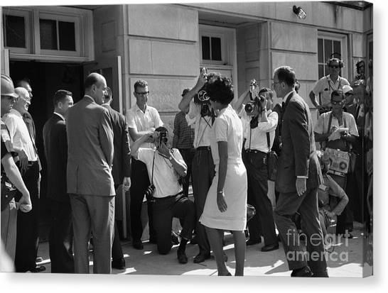 Conference Usa Canvas Print - Desegregation, 1963 by Granger
