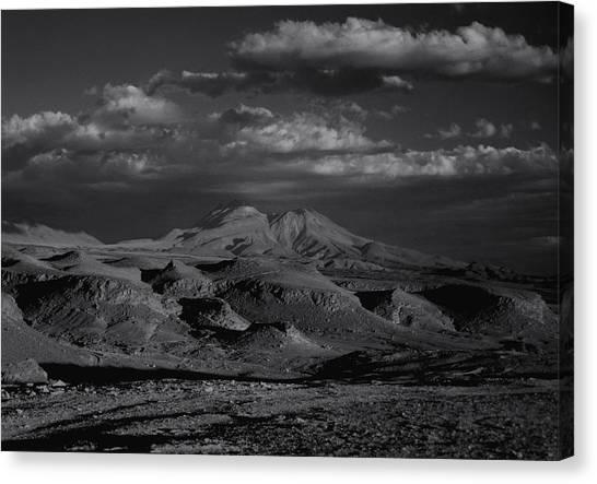 Desert Canvas Print by Amarildo Correa