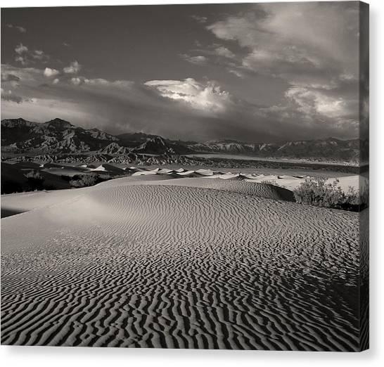 Desert Dunes Canvas Print by Gary Cloud