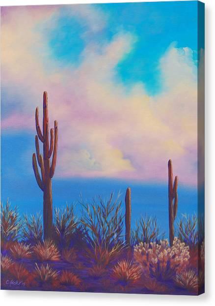 Desert Fog Canvas Print