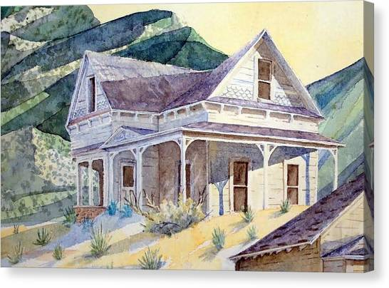 Desert Ghost Canvas Print