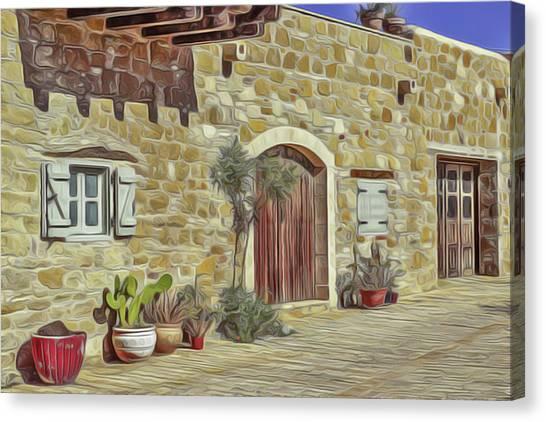 Desert House Canvas Print