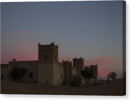 Desert Kasbah Morocco 2 Canvas Print