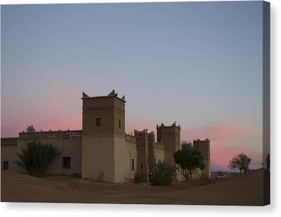 Desert Kasbah Morocco Canvas Print