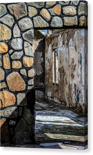 Desert Lodge View 1 Canvas Print
