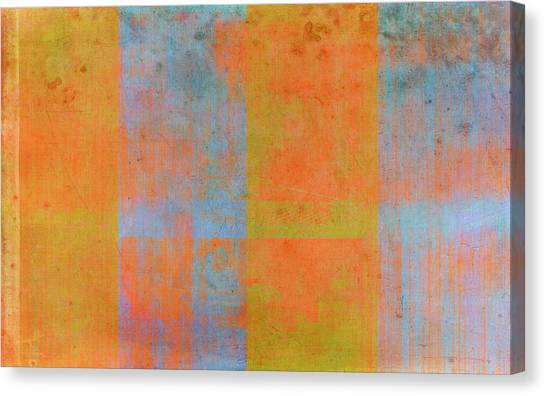 Abstract Expressionism Canvas Print - Desert Mirage by Julie Niemela