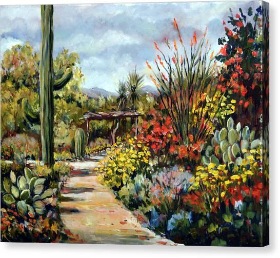 Desert Museum Garden Tucson Canvas Print