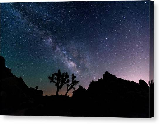 Canvas Print - Desert Night Sky by Starry Night