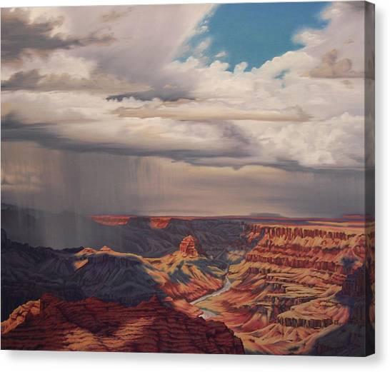 Desert Palisades Canvas Print