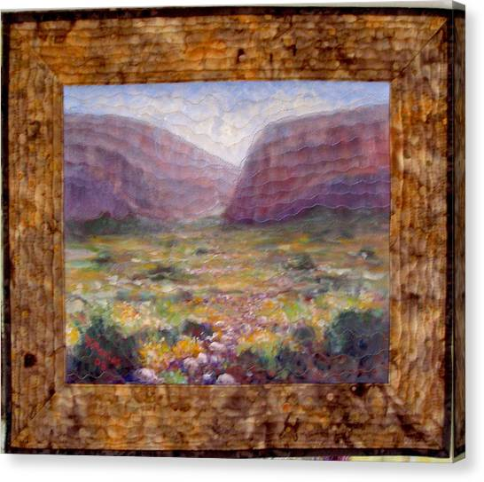Desert Spring Canvas Print by Diane and Donelli  DiMaria