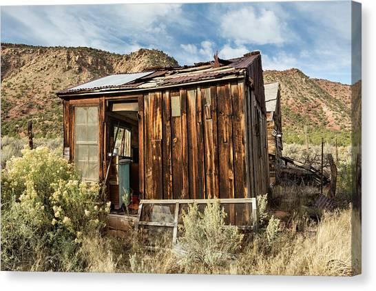 Desert Storage Canvas Print