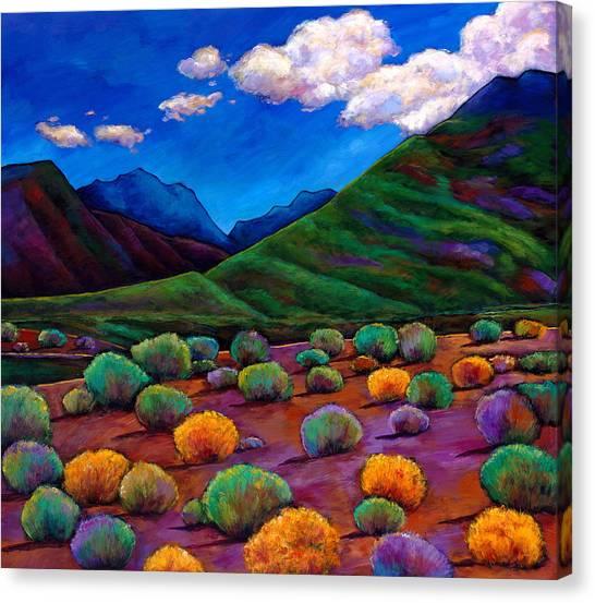 Desert Canvas Print - Desert Valley by Johnathan Harris