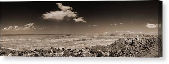 Desert View - Northern Arizona Canvas Print