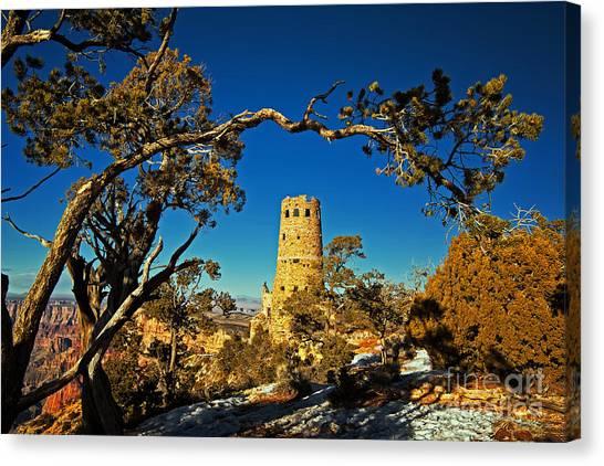 Desert View Watchtower, Grand Canyon National Park, Arizona Canvas Print