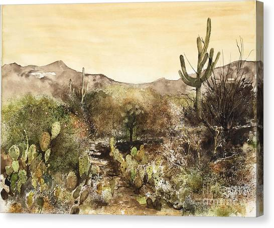 Desert Walk Canvas Print