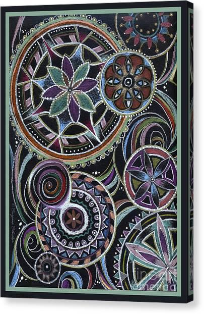 Design 217 F Canvas Print