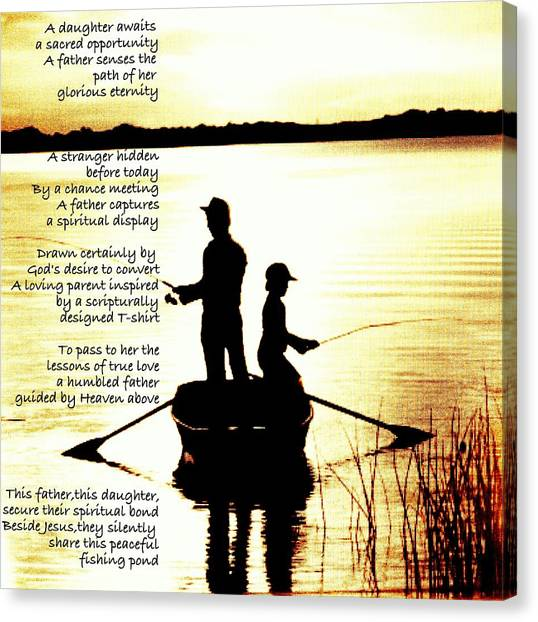 Father To Father To Child Canvas Print