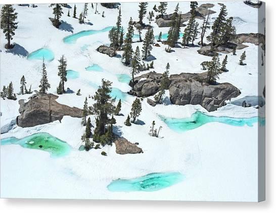 Desolation Canvas Print - Desolation Blue Ice by Brad Scott