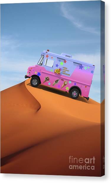 Mirages Canvas Print - Dessert Mirage by Edward Fielding