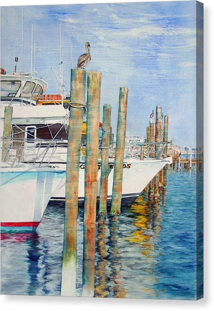 Destination Destin Nr. One Canvas Print
