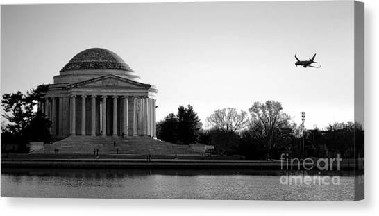 Jefferson Memorial Canvas Print - Destination Washington  by Olivier Le Queinec