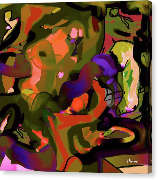 Canvas Print featuring the digital art Destiny by Robert Henne