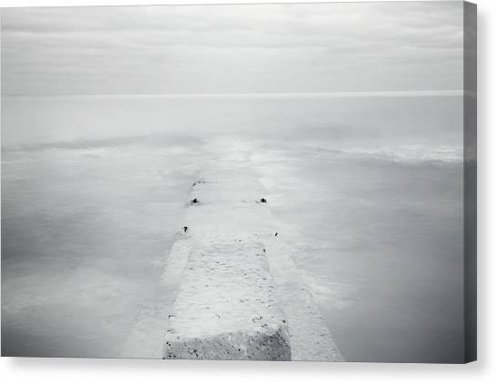 Lake Michigan Canvas Print - Destitute Of Hope by Scott Norris