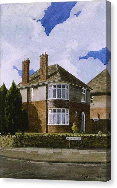 Detached Canvas Print by Andrew Crane